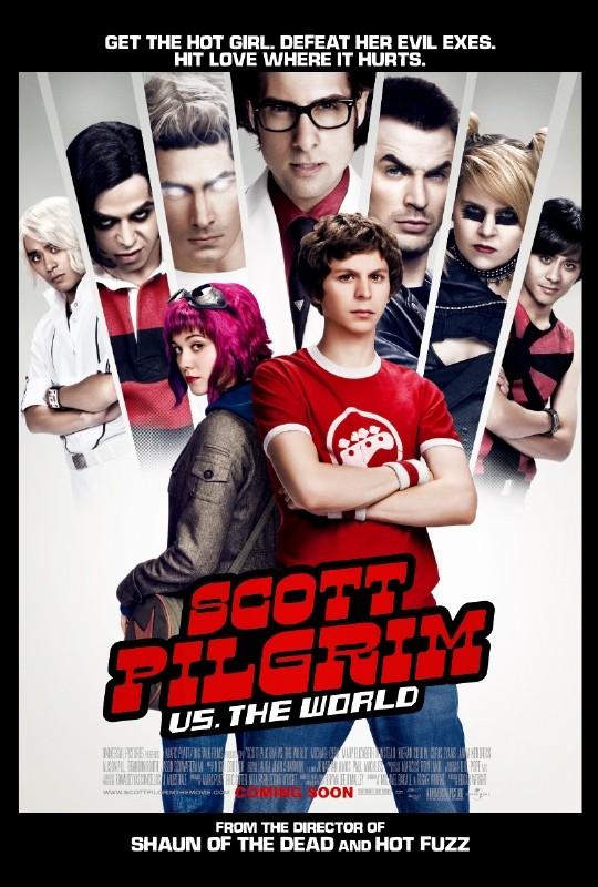 Nuova locandina di Scott Pilgrim vs. the World