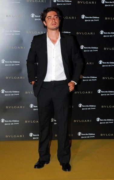 Riccardo Scamarcio ad un gala di Bulgari (Roma, 2009)