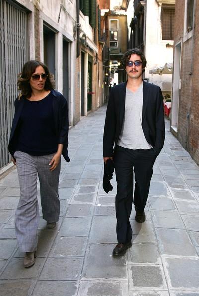 Riccardo Scamarcio e Valeria Golino a Venezia nel 2009