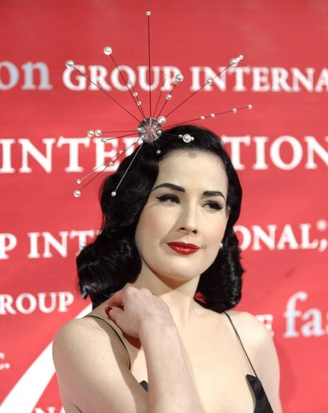 Dita Von Teese a New York, nel 2009 alla 26esima Night of Stars Awards