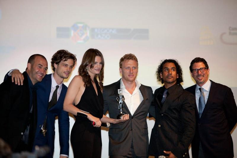 Foto di gruppo per gli ospiti ABC al Roma Fiction Fest 2010