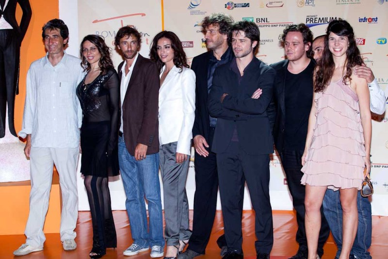 Il cast de Il sorteggio al Roma Fiction Fest 2010