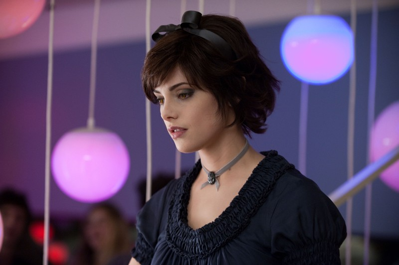 La bellissima Ashley Greene in un momento del film The Twilight Saga: Eclipse
