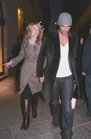 Laura Chiatti con Francesco Arca