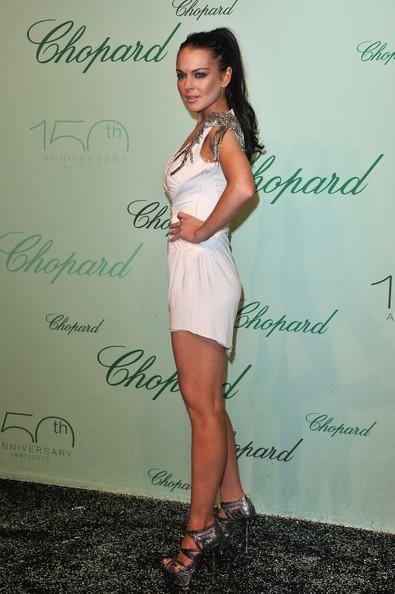 Lindsay Lohan a Cannes, nel 2010