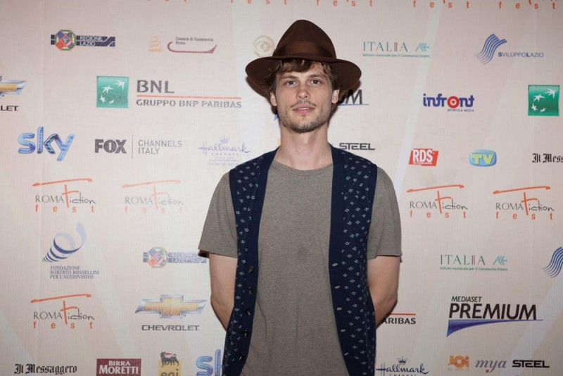 Matthew Gray Gubler al Roma Fiction Fest 2010