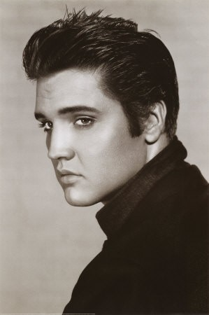 Una foto di Elvis Presley