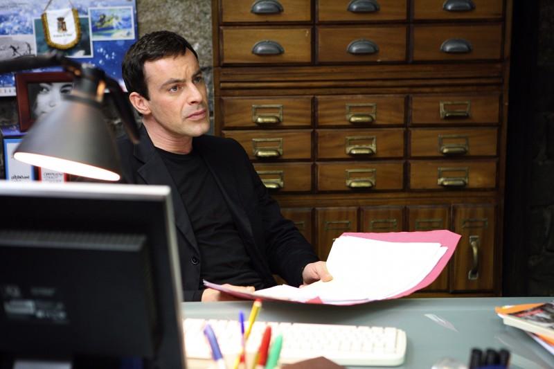 Gedeon Burkhard in una scena de La narcotici