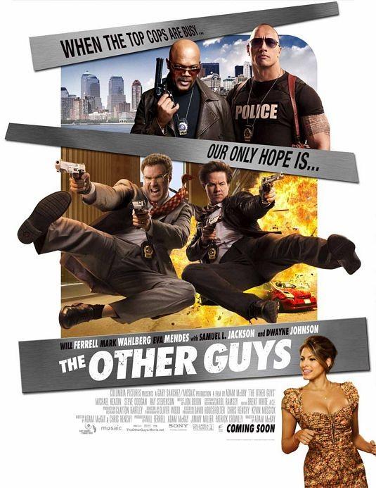 International Poster per il film Gli altri due (The Other Guys)