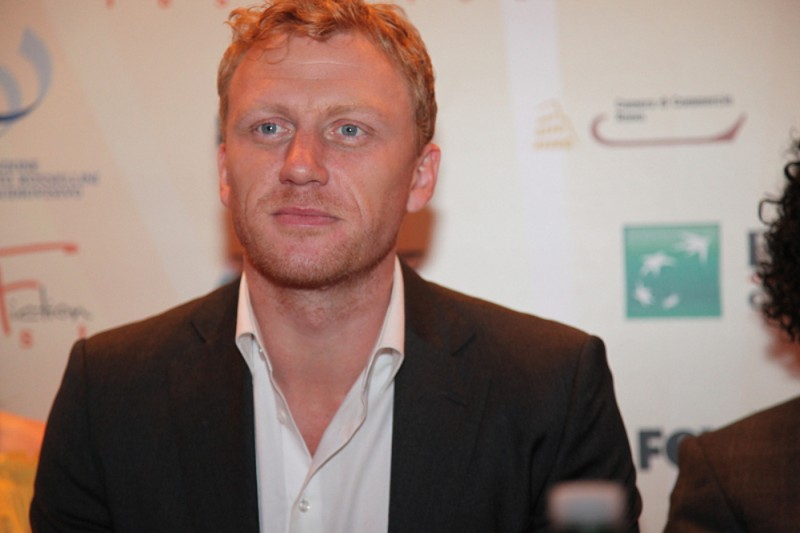 Kevin McKidd al Focus ABC Studios del Roma Fiction Fest 2010