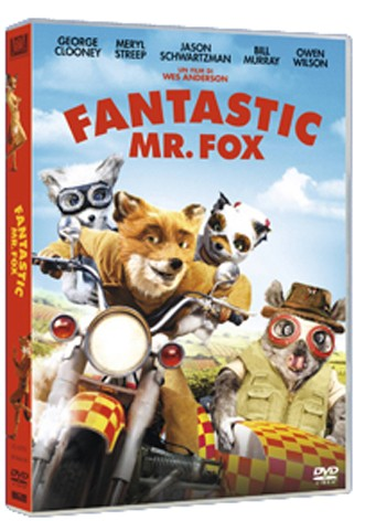 La copertina di Fantastic Mr. Fox (dvd)