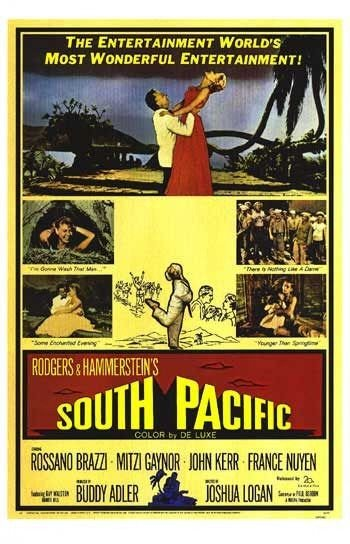 La locandina di South Pacific