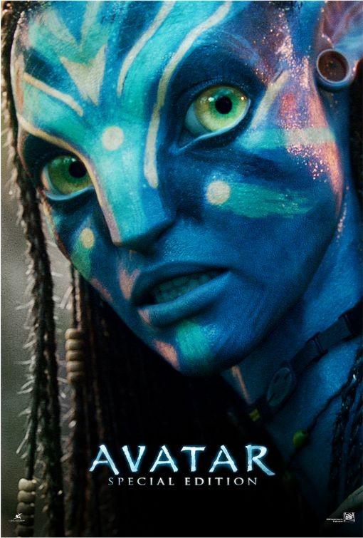 Nuovo poster USA per la riedizione del film Avatar