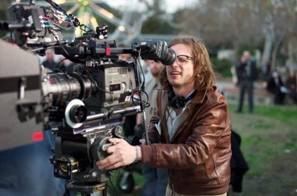 Matthew Gray Gubler in veste da regista sul set dell'episodio Moslet Lane di Criminal Minds