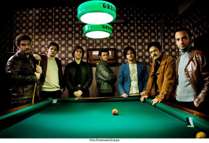 Una foto promozionale del cast di Romanzo Criminale 2 - La serie