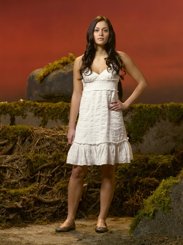Fernanda Andrade è una Nephilim nel film tv Angeli caduti