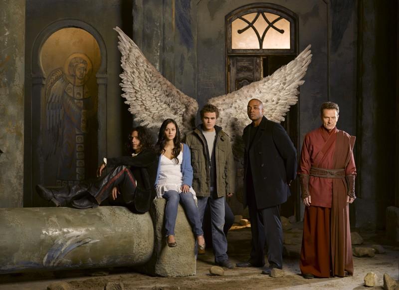 Il cast principale di Angeli caduti in una foto promo