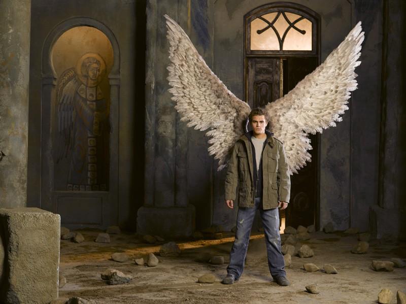 Paul Wesley è il Nephilim Redentore nel film Angeli caduti
