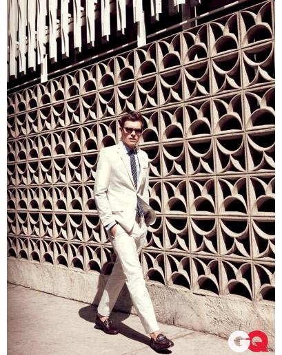 Xavier Samuel per GQ Magazine