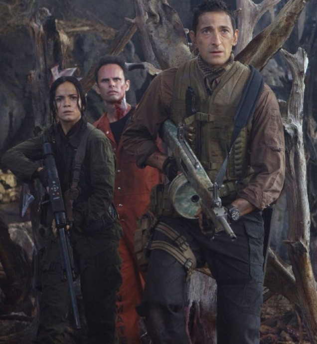 Adrien Brody, Walton Goggins e Alice Braga guerriglieri di Predators