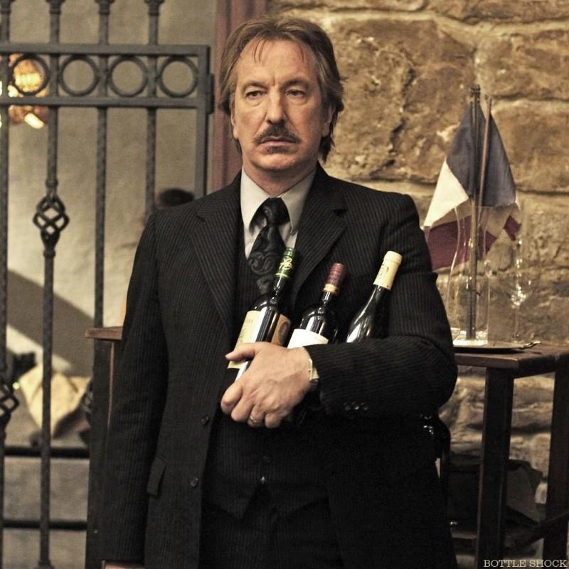 Alan Rickman protagonista di Bottle Shock