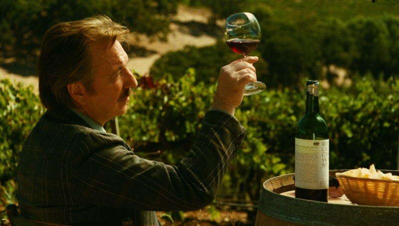 Alan Rickman rimira i suoi vini in Bottle Shock