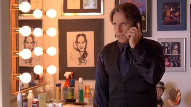 Ben Stiller in una sequenza del film Un microfono per due