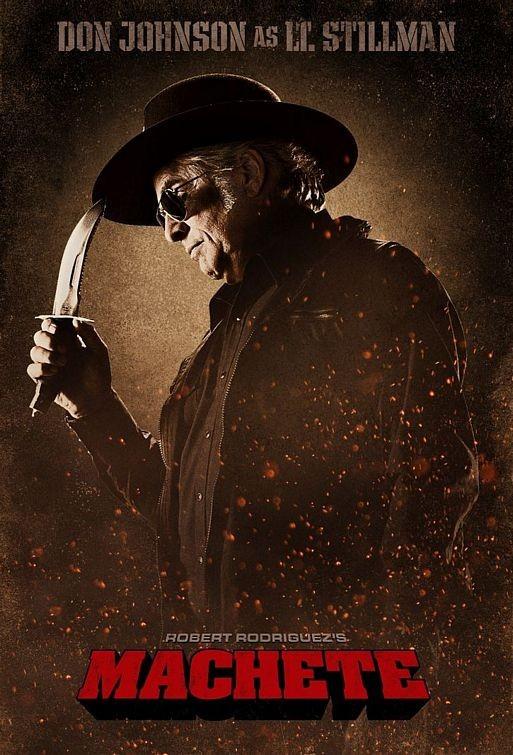 Character Poster per Machete - Don Johnson