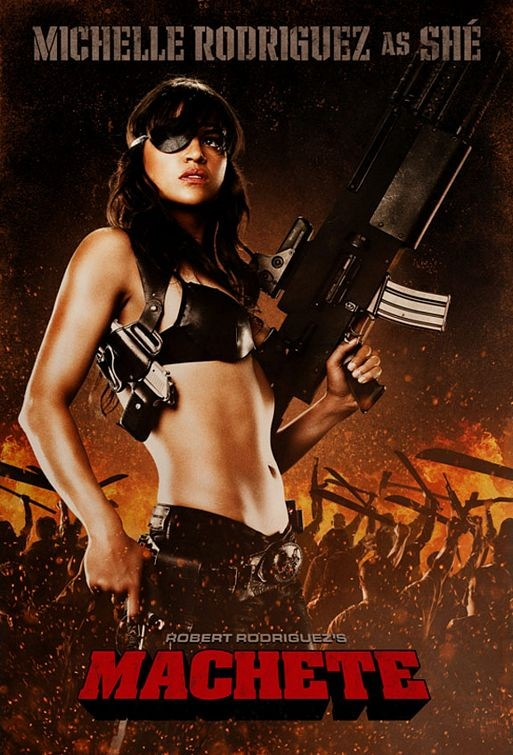 Character Poster per Machete - Michelle Rodriguez