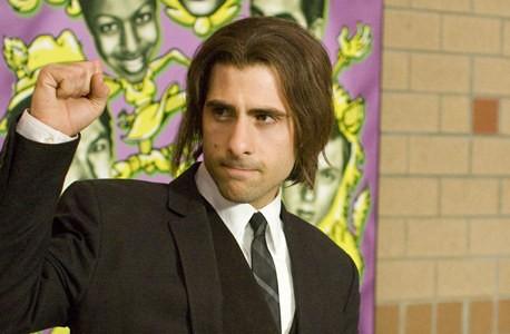 Jason Schwartzman in un'immagine del film Un microfono per due