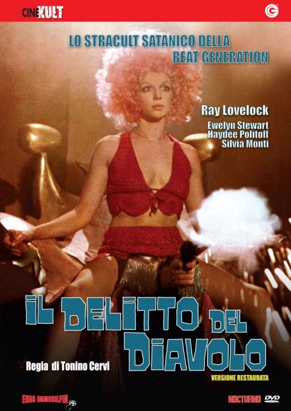 La copertina di Il delitto del diavolo (dvd)