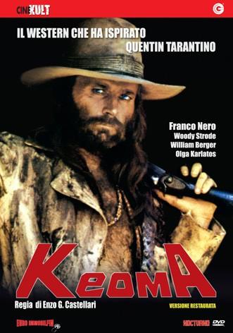 La copertina di Keoma (dvd)