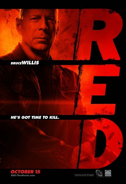Character poster di Bruce Willis in Red