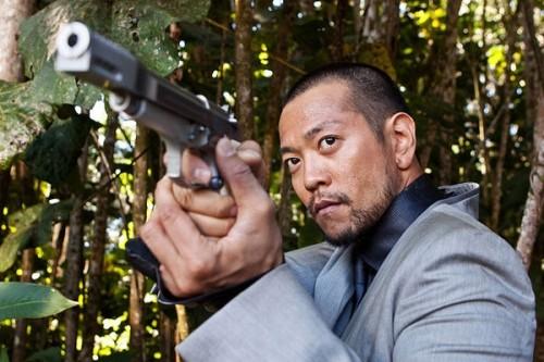 Louis Ozawa Changchien nel film Predators