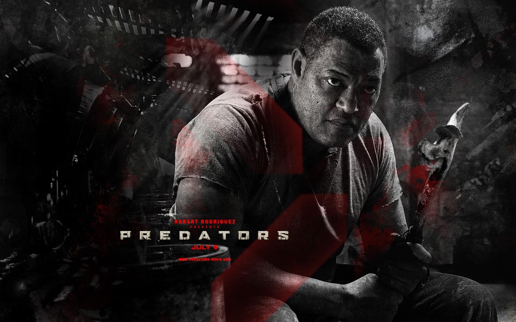 Poster di Predators dedicato a Noland