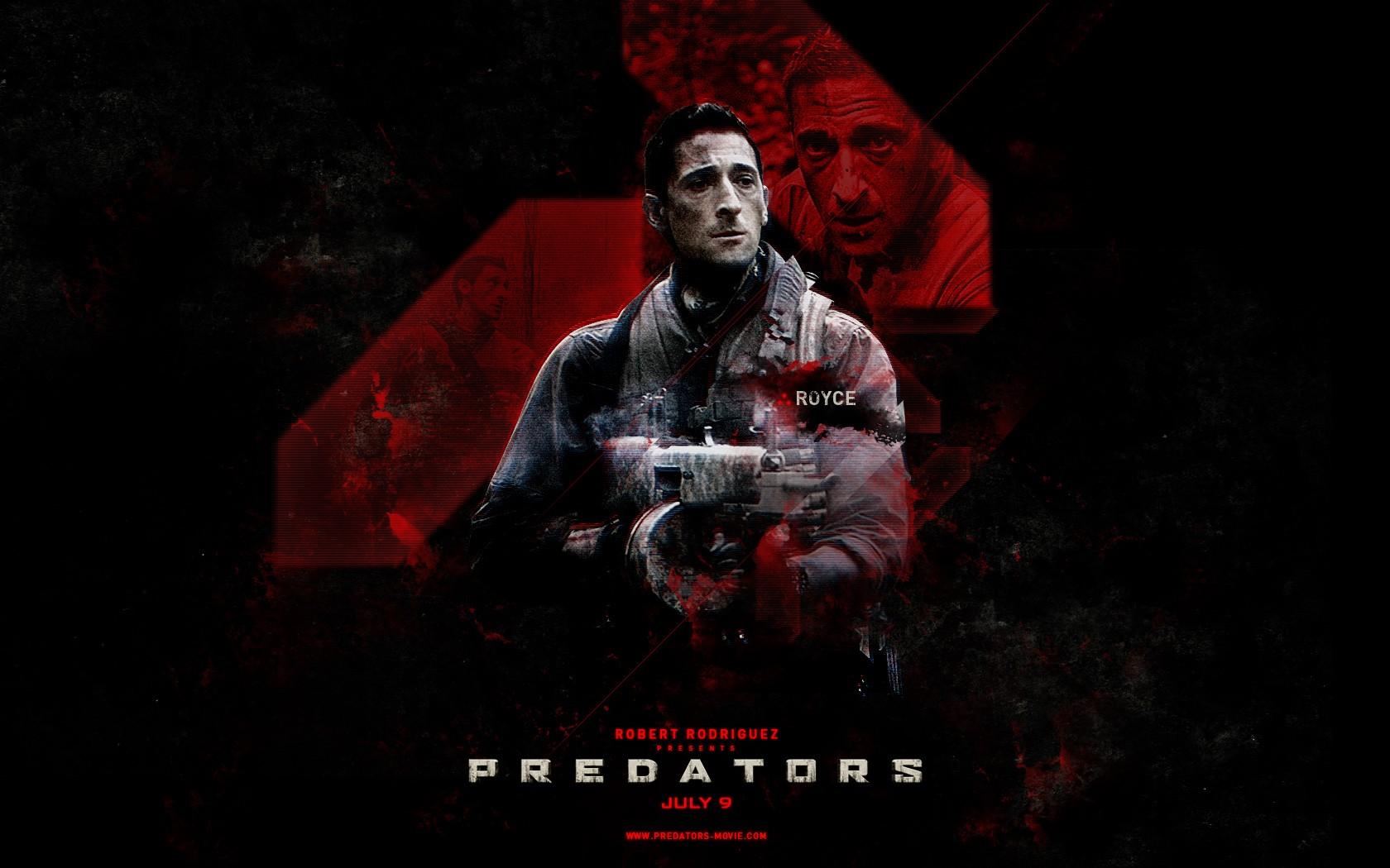 Poster di Predators dedicato a Royce