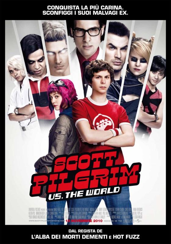 Poster italiano di Scott Pilgrim vs. the World