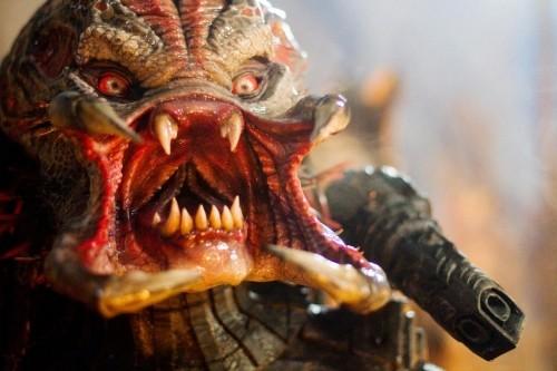 Un'immagine terrificante del film Predators