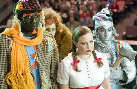 Un omaggio del film musicale Un microfono per due a Il mago di Oz