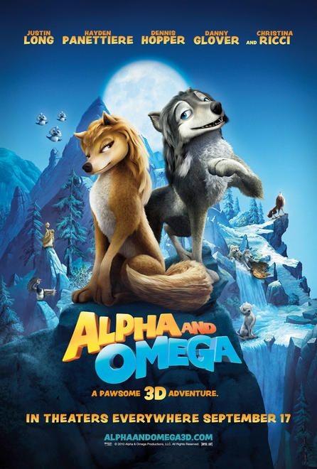 Un poster per il film Alpha and Omega