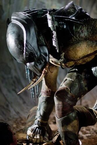 Una suggestiva immagine del film Predators