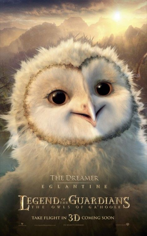Character poster per Legend of the Guardians - The Dreamer