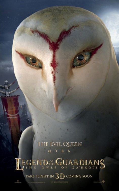 Character poster per Legend of the Guardians - The Evil Queen