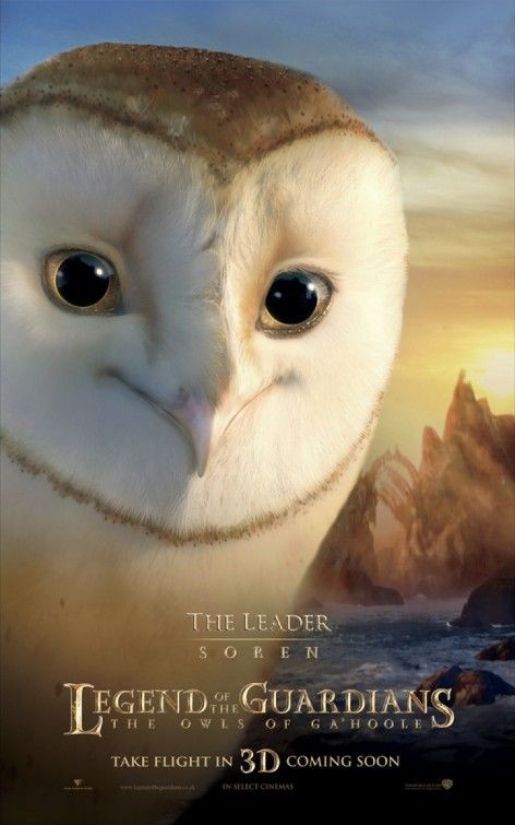 Character poster per Legend of the Guardians - The Leader