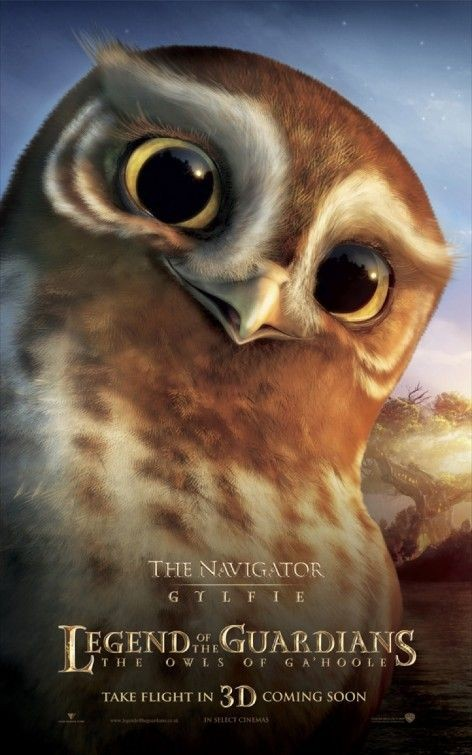 Character poster per Legend of the Guardians - The Navigator