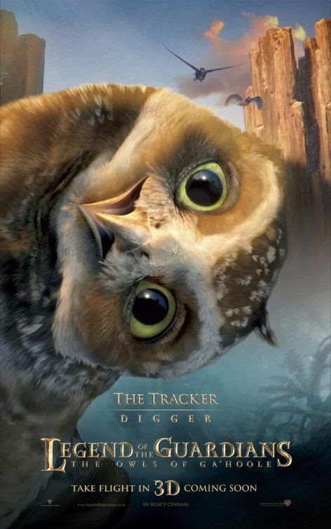 Character poster per Legend of the Guardians - The Tracker
