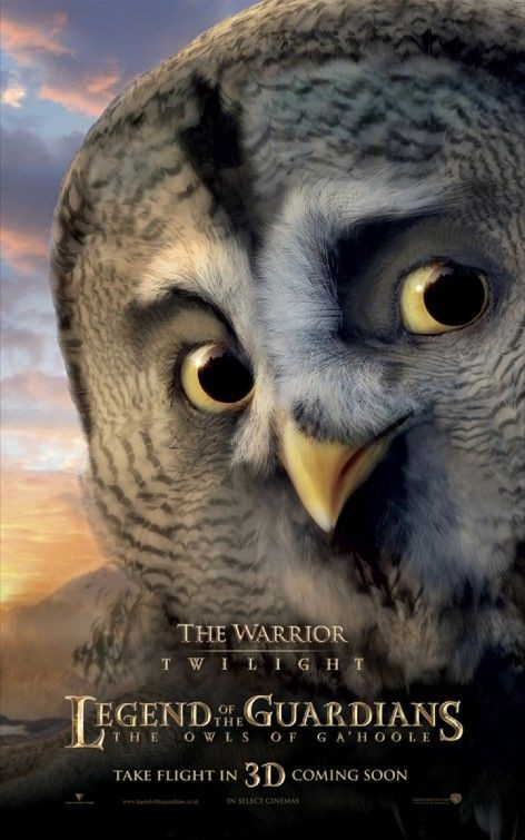 Character poster per Legend of the Guardians - The Warrior