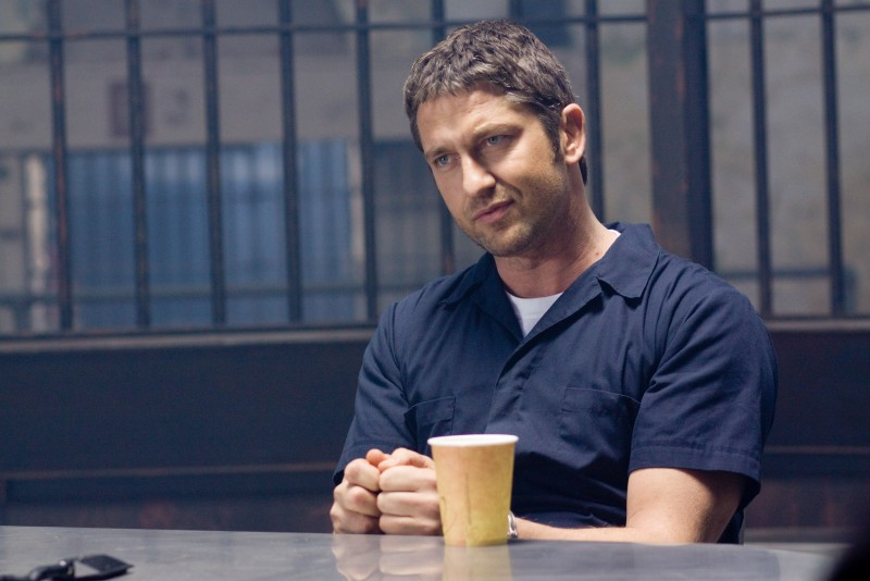 Gerard Butler in un'immagine di Law Abiding Citizen