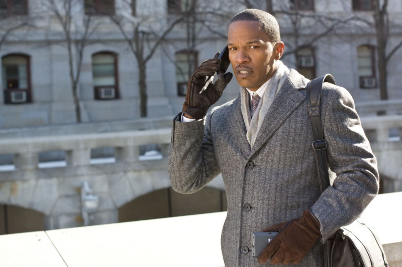 Jamie Foxx nel film Law Abiding Citizen