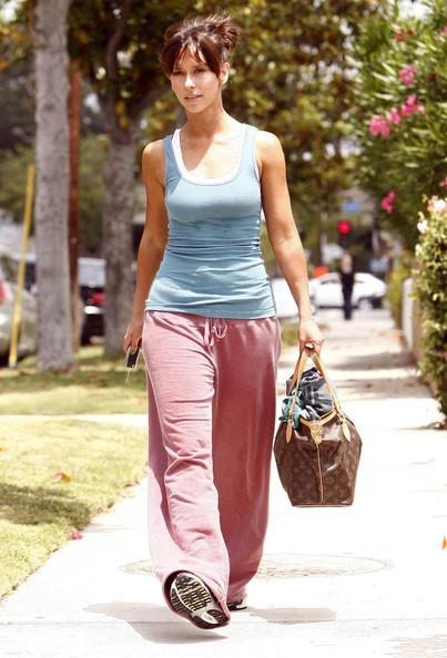 Jennifer Love Hewitt dopo una seduta di pilates (2010)